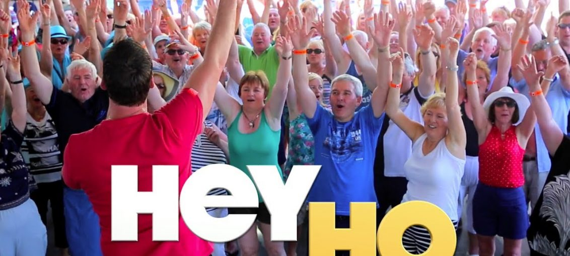Hey Ho clap clap clap - Country Line Dance - Robert Mizzell